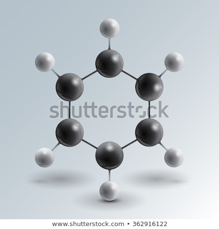 Molecular estructura 3d resumen fondo signo Foto stock © tussik