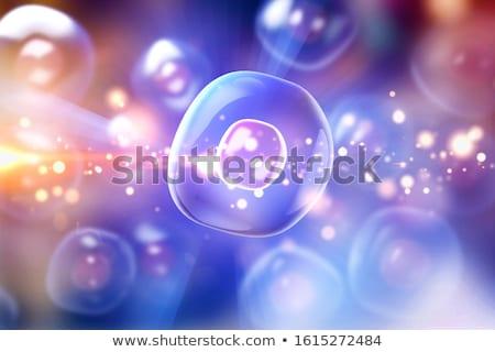 3D · vírus · microscópio · textura · abstrato - foto stock © klss
