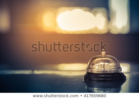 luxury hotel vintage bell service stock photo © idesign