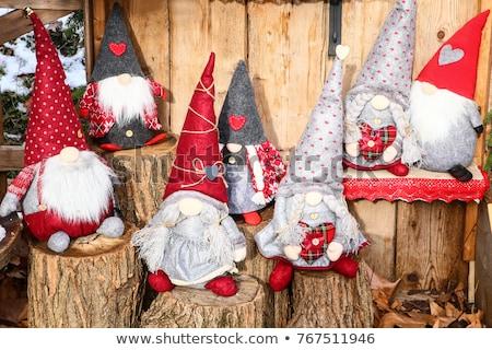 Elf fantoccio giocattolo bambola Natale fili Foto d'archivio © adrenalina