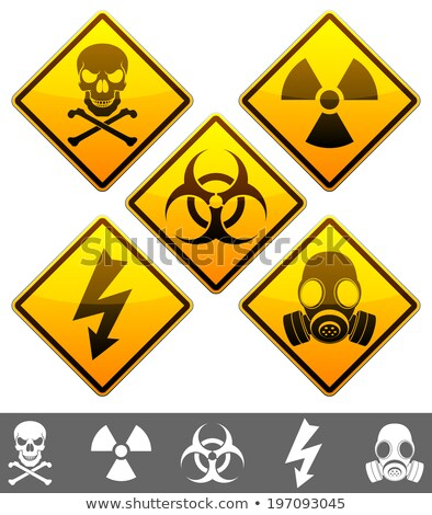 Stock photo: nuclear war icon