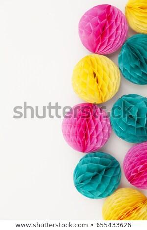 honeycomb balls for a party stock photo © barbaraneveu