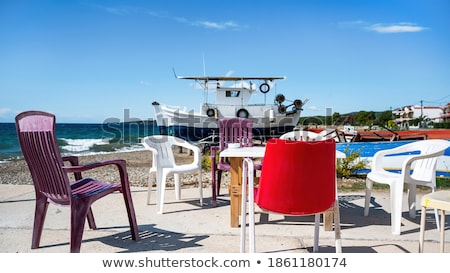 Stock photo: Multiplication table  Greek Table