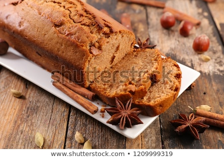 スパイス ケーキ スライス まな板 食品 ストックフォト © Digifoodstock