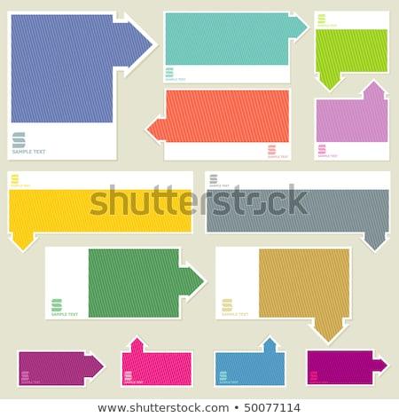 despesa · palavra · dobrador · cartão · foco · informação - foto stock © tashatuvango