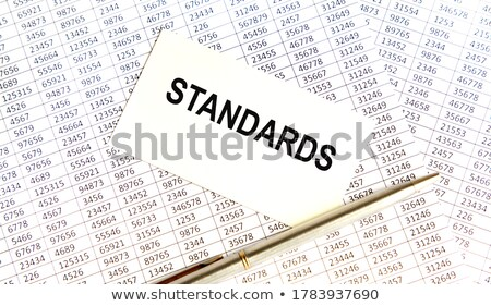 Index Card with Inscription Catalogs. Stock photo © tashatuvango