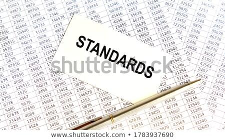 dobrador · cartão · arquivo · branco · moderno - foto stock © tashatuvango