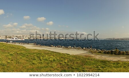Embankment of straint Bosphorus in Istanbul, Turkey Stock photo © artjazz
