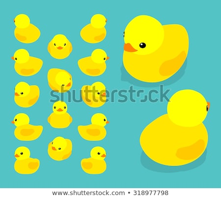Toddler with rubber ducky Stock photo © thisboy