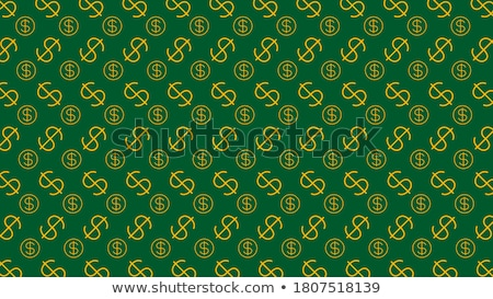 american dollar money sign symbol shape by paper currency cash stock photo © ia_64