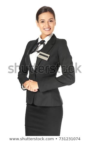 молодые женщины отель портье Сток-фото © IS2