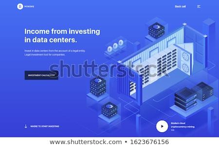 icon · moderne · computer · netwerk · technologie · teken - stockfoto © trikona