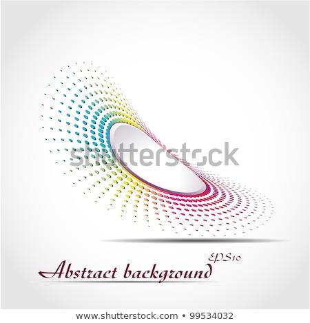 Colorido de moda círculos perspectiva Foto stock © SArts