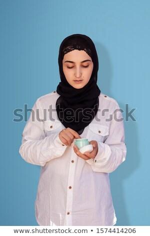 Portrait musulmans mode femme 20s Photo stock © deandrobot