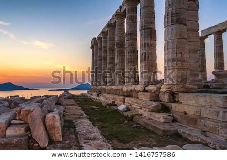 Pantheon at sunset Stock photo © Givaga