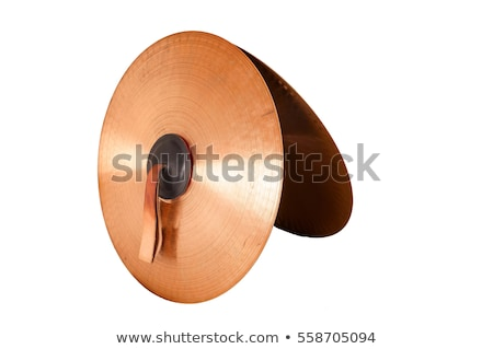 Detail of the old cymbal Stock photo © boggy