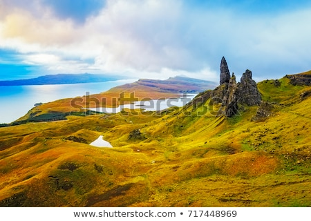 The Quiraing Landscape Isle Of Skye - Scotland Stock photo © solarseven