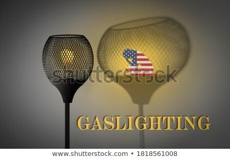 Gaslighting America Stock photo © Lightsource