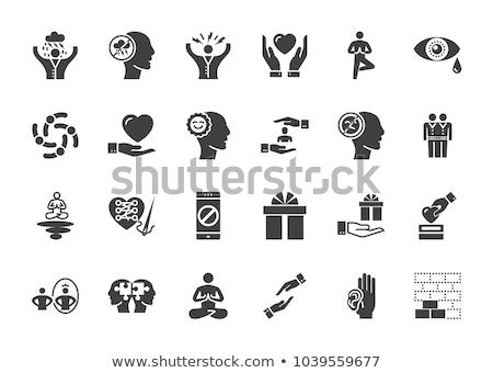 estressante · condição · ícone · isolado · estresse · saúde - foto stock © smoki