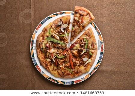 伝統的な · タイ · 辛い · サラダ · 肉 · 野菜 - ストックフォト © brebca