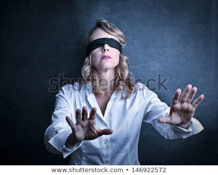 Blind Gelegenheit Business Erfolg finanziellen Metapher Stock foto © Lightsource