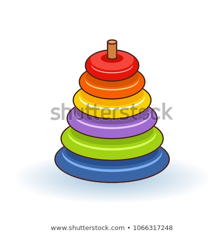 Stack of Rings Child Toy Stock photo © make