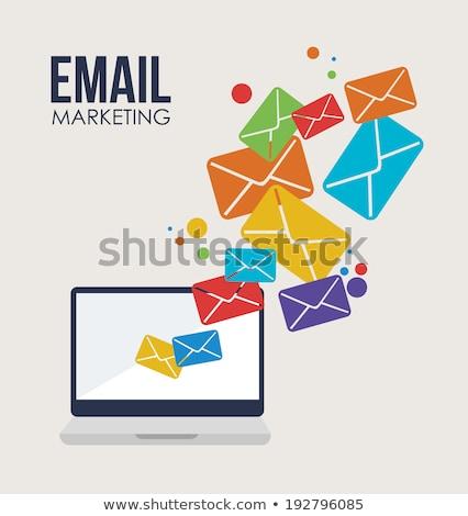 e-mail · procede · lezing · schrijven · kantoor · produktiviteit - stockfoto © kali