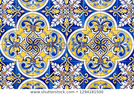traditional portuguese tiles stock photo © homydesign