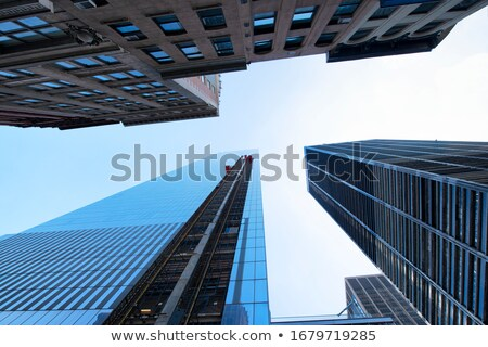 Low Angle View Of New Buildings At Central Park Stock photo © AndreyPopov