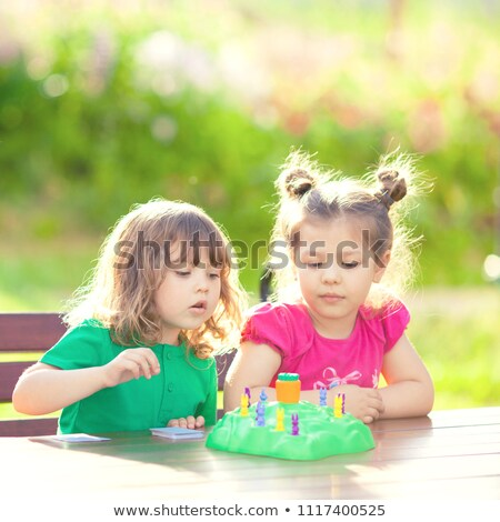 children boardgame stock photo © colematt