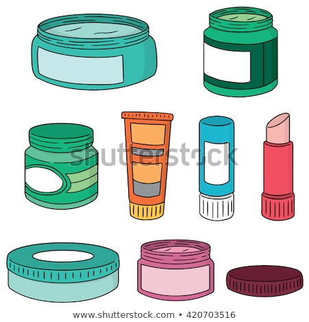 vector set of topical cosmetic and topical medicine stock fotó © olllikeballoon