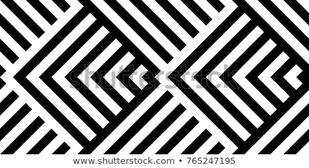 meetkundig · naadloos · vector · patroon · abstract · Blauw - stockfoto © yopixart