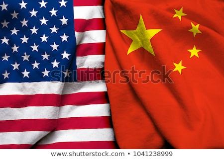 Egyesült Államok Kína együttműködés globális üzlet kapcsolat siker Stock fotó © Lightsource