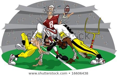 American Football Rush #9 Stock photo © robStock