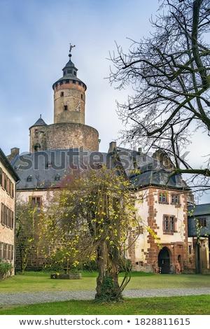 Castillo Alemania historia cielo viaje Europa Foto stock © borisb17