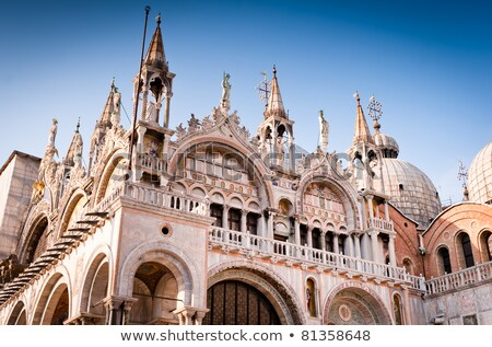 Stock photo: Facade building at Piazza San Marco in Venice