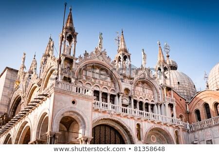 facade building at piazza san marco in venice stock photo © vapi