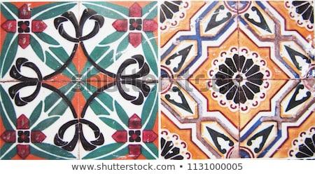 Ceramic tile, Spain Stock photo © borisb17