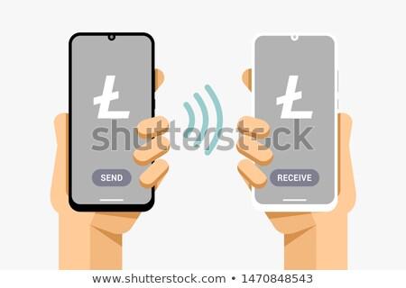 Transakcja finansów operacja wektora Zdjęcia stock © karetniy