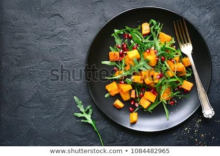 Delicioso salada abóbora paleo dieta Foto stock © Melnyk