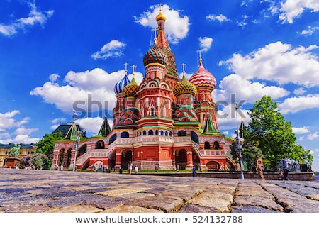 старые · православный · собора · закат · небе · банка - Сток-фото © joyr