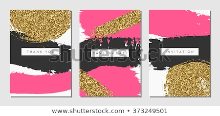 three invitations stock photo © pressmaster