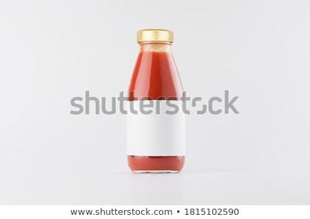 Beyaz etiketler paketleri rozetler gönderemezsiniz Stok fotoğraf © orson
