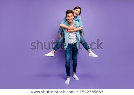 coloured couple Stock photo © photography33