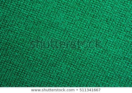 green wool texture stock photo © homydesign