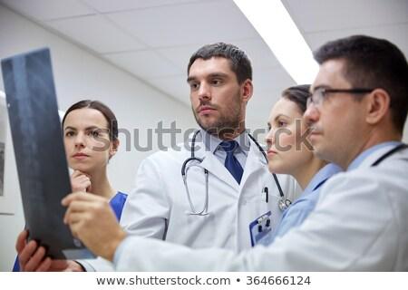 medische · team · bespreken · Xray · afbeelding · diagnose - stockfoto © photography33