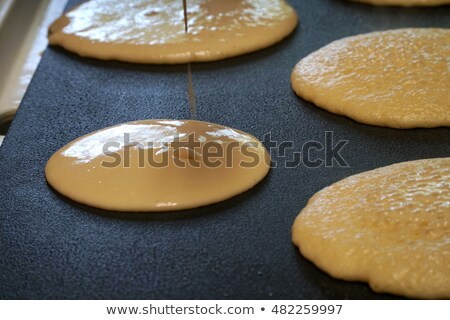 приготовления · горячей · печи · торт · свежие - Сток-фото © backyardproductions