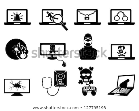 Stethoscope and Cyber Crime Stock photo © devon