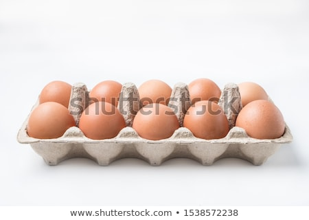 Paskalya yumurtası yumurta Paskalya çikolata kutu Stok fotoğraf © albund