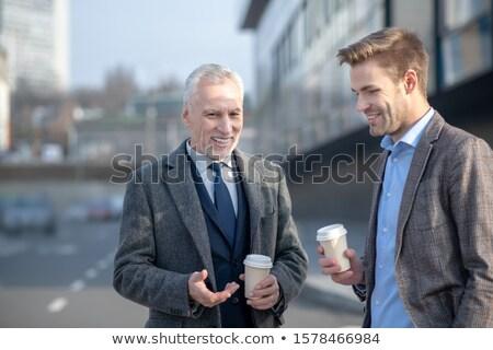 Businessman having a coffee Stock photo © photography33